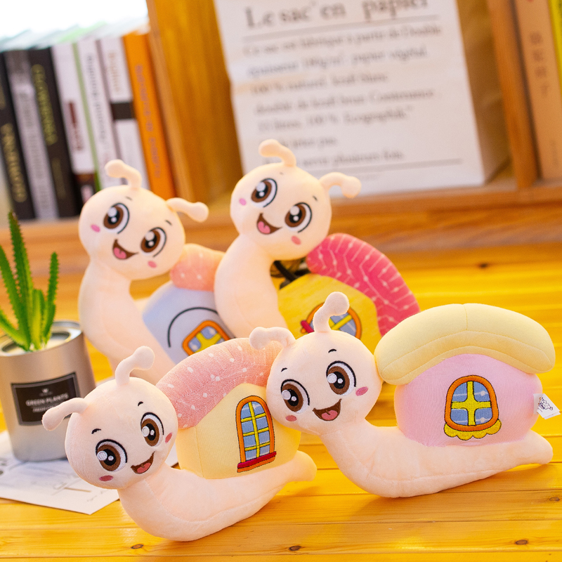 new toy cartoon snail plush toy about 26cm soft doll baby toy birthday gift h1399