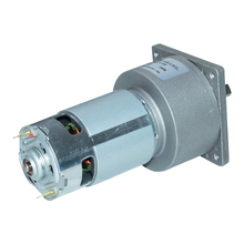 60GA775 DC 12/24V Geared Motor Reducer With Metal Gearbox High Torque Parallel Shaft 3-300rpm DC Electric Motor With High Speed