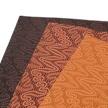 20*34 см геометрическое плетение узоры Bump текстура синтетическая кожа, DIY материалы ручной работы для изготовления рукоделия, 1Yc6811