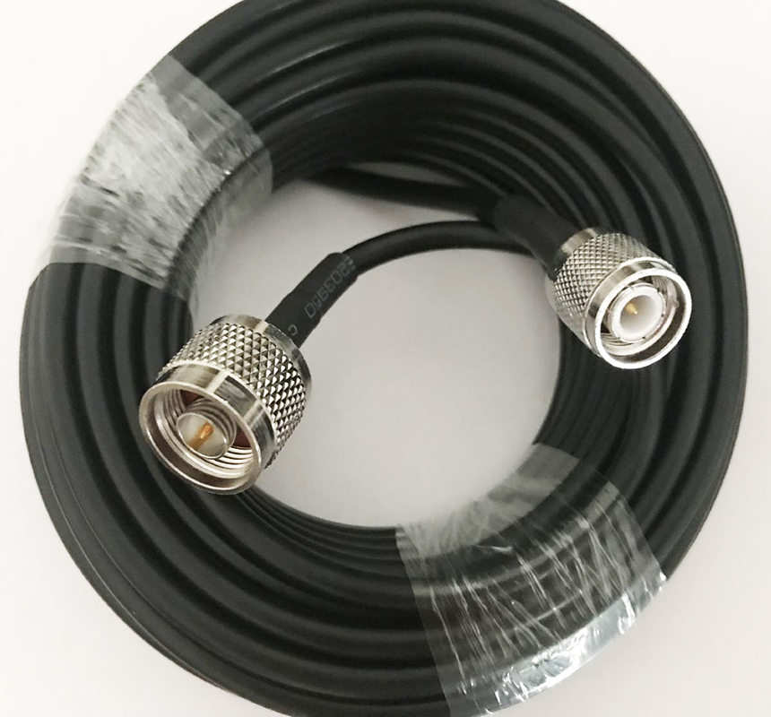 Low Loss RP-SMA male to N female jack Semi Flexible RG402 cable RF 3G 4G Antenna