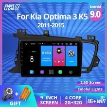 IPS 2din Android 9,0 Auto Radio Für Kia Optima 3 K5 2011 2012 2013 2014 Auto Radio Multimedia Video Player GPS Keine 2DIN DVD Player