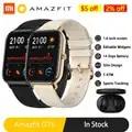 Amazfit GTS Смарт часы глобальная версия для мужчин и женщин 5ATM водонепроницаемый GPS трекер NFC BT5.0 Smartwatch для Xiaomi Android Phone IOS