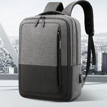 IKE MARTI Laptop Backpack Business Male Mochila Waterproof 15.6 USB Charging Anti Theft College Travel School Backpack For Men