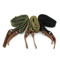 Ajustável carregando airsoft rifle sling resistente tático rifle arma cinto cinta rifle estilingue strap elastic belt with no metal belt cow -