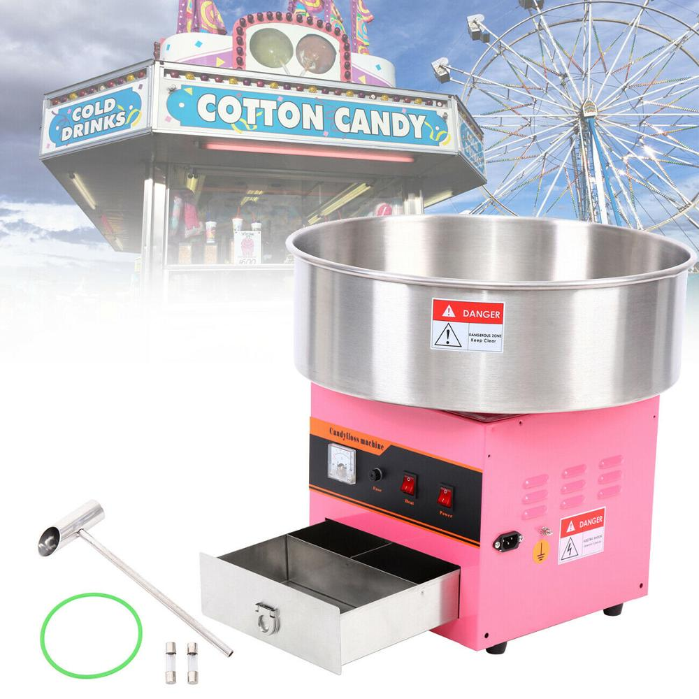 Yonntech Electric Cotton Candy Machine Sugar Fairy Floss Maker Barbe A Papa Candy Floss Party Home Xmas