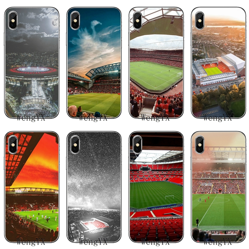 For Liverpool Anfield Stadium Soft Phone Cover Case For Oneplus 3T 5T 6T LG G5 G6 G7 Q6 Q7 Q8 Q9 V20 V30 X Power 2 3 K4 K8 K10