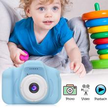 Cameras Digital-Video-Camera Green Kids Video-Recording Selfie Pink Mini Shockproof Toddler