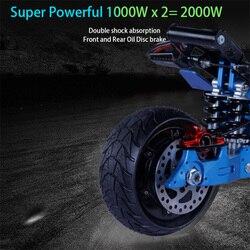 Skuter elektryczny 5000W Patinete Electrico Adulto E skuter elektryczny rower bateria litowa Samsung Hulajnoga Elektryczna Escooter 4