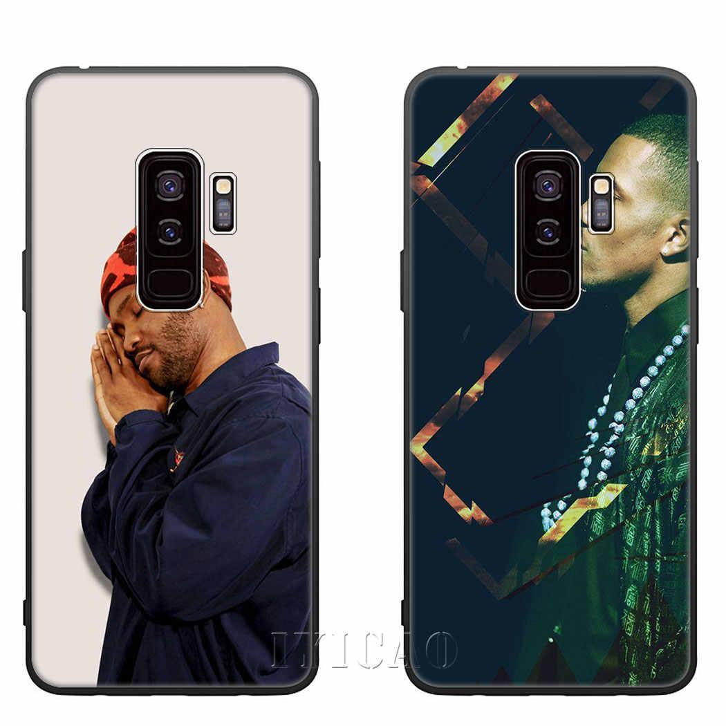 IYICAO chanteur Frank océan Blond doux Silicone étui pour samsung S10 S9 S8 Plus S10E S6 S7 bord coque de téléphone