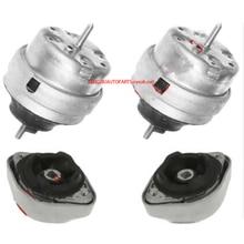 Engine Transmission Mount Fit VW PASSAT 1998 2005 1Sets 8D0 199 379 AR 8D0 199 382 AR 8D0 399 151 M