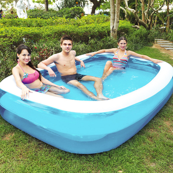 Summer Thickened Inflatable Swimming Pool Family Kids Children Adult Play Bathtub Outdoor Indoor Water Swimming Pool