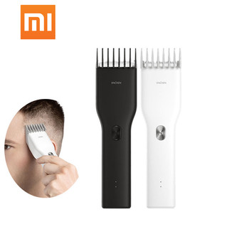 XiaoMi ENCHEN Men's Electric Hair Clippers Clippers Cordless Clippers Adult Razors Professional Trimmers Corner Razor Hairdresse фото