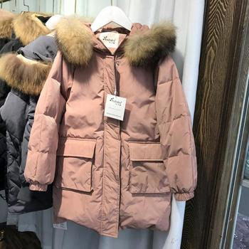 Plus Size Children Down Jacket thicker warm hooded Windproof Oversize Long Outerwear Modis Kids Clothes Down Jacket Coat Y2228