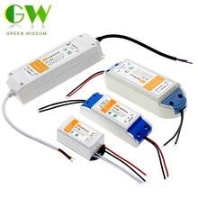 Transformador de iluminación de 12V, 18W, 36W, 72W y 100W, controlador LED de alta calidad para luces de tira LED, adaptador de fuente de alimentación de 12V