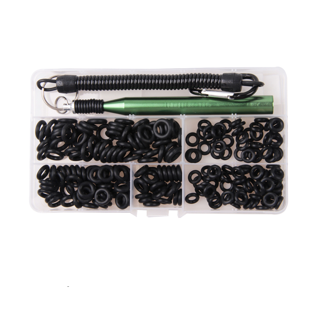 201pcs Wacky Rig Tool And Worm O-Rings Wacky Ring Tool Wacky Worm Kit For Senko Soft Baits Neko Rigs Tackle For Bass Fishing