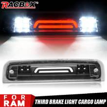 Fumaça led terceira luz de carga de freio alta montagem parar lâmpada luzes de sinalização para dodge ram 1500 2500 3500 2009-2018