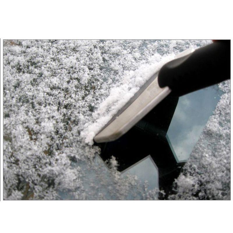 4 pièces voiture pare-brise grattoir à neige Portable outil de nettoyage pelle à glace véhicule voiture pare-brise pour voiture grattoir à glace pelle à neige