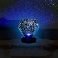 Led Sterrenhemel Projector Bluetooth Muziekspeler Lamp Ster Licht Usb Cosmos Galaxy Kleurrijke Rotatie Projectie Kids Gift Decor