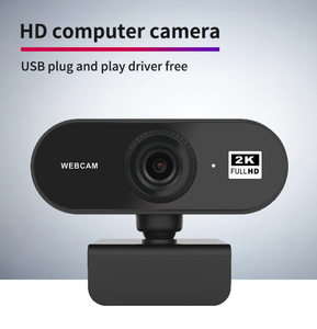 Auto Focus 2K Webcam Built-in Microphone High-end Video Call Camera Computer Camera Peripherals Web Camera For PC Laptop
