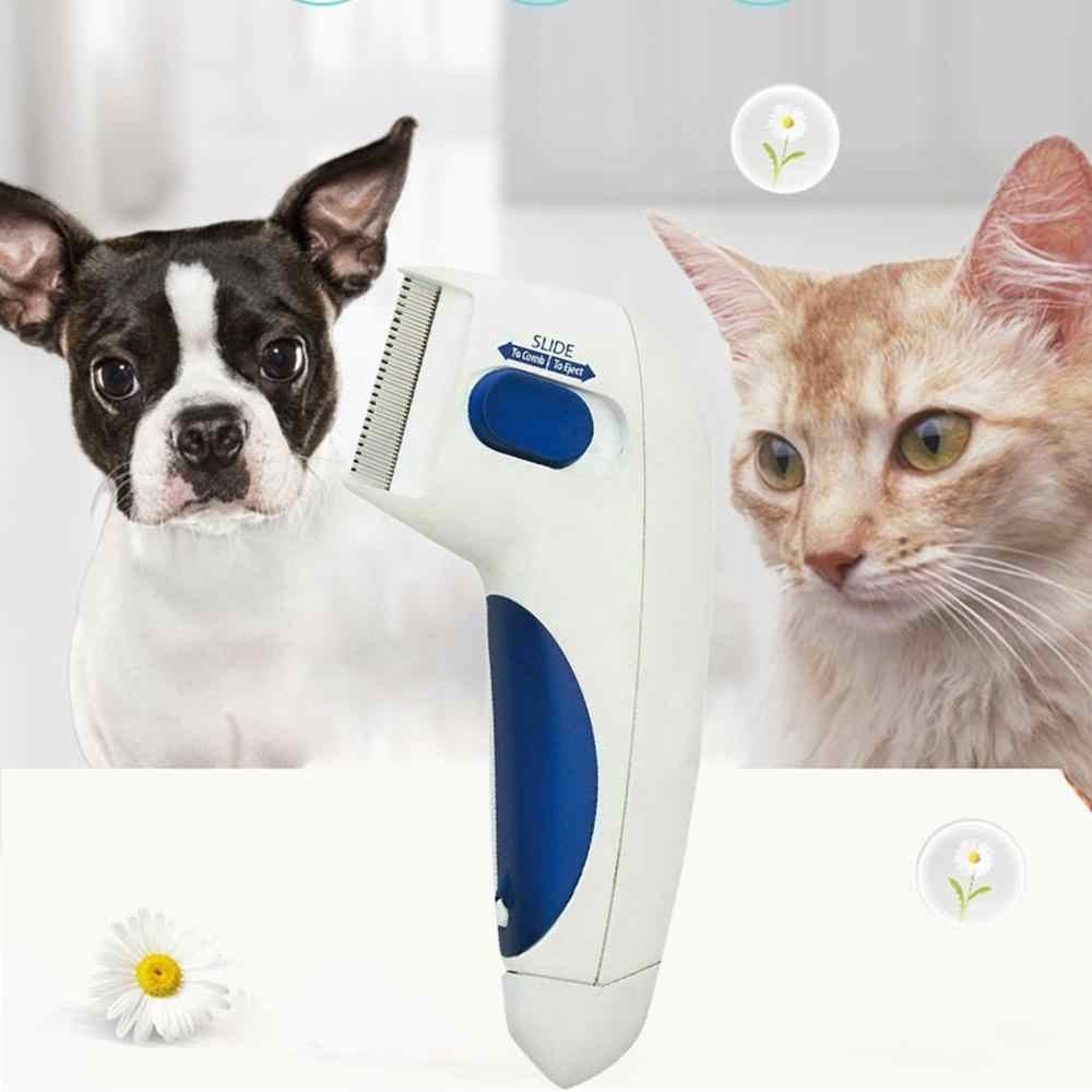 VKTECH, limpiador de Piojos para mascotas, peine eléctrico para limpieza de pulgas de perros, peine antipulgas para perros, peine electrónico para piojos para gatos y perros, producto en oferta