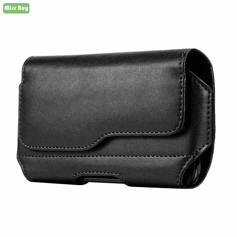Универсальная сумка для телефона, поясной зажим, чехол для Xiaomi MI 8 9 SE 9T Redmi Note 8 7 5 6 Pro Redmi K20 Pro, кожаный чехол книжка|Сумки для телефона|   | АлиЭкспресс