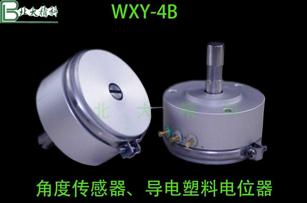WXY-4B Conductive Plastic Sensor Angular Displacement Sensor Angle Potentiometer Angle Amplifier