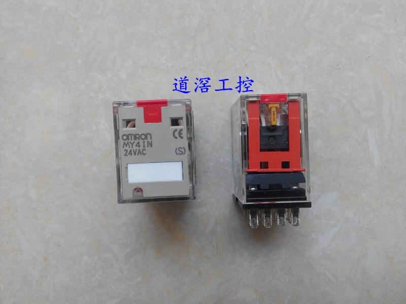 Miniaturowy przekaźnik mocy MY4IN 24VAC(S)