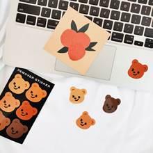Южная Корея instagram симпатичный маленький медвежонок запечатывающая