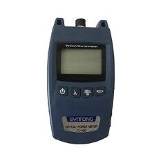 FTTH мини измеритель оптической мощности Тип OPM волоконно оптический кабель тестер 70dBm ~ + 10dBm SC/FC универсальный разъем интерфейса