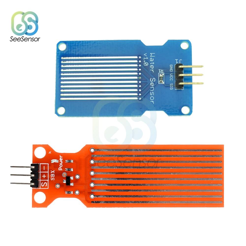 DC 3V-5V 20mA Rain Water Level Sensor Module Board Detection Liquid Surface Depth Height For Arduino