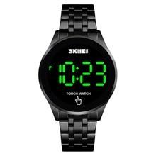 Digital Watch Men Touch Screen LED Date Back Light Waterproof