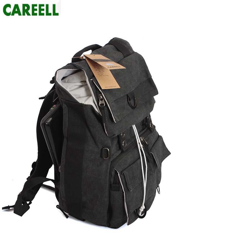 C003 DSLR  CAREELL Bag Waterproof Backpack Compact Travel Men Women For Kamera Digital