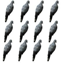 GUGULUZA 12 шт./упак. десятков реалистичный Dove приманки в форме голубя приманка для Охота сада декоративные обновления