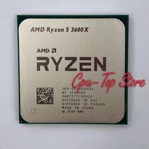 Image 2 - Amd Ryzen 5 3600X R5 3600X 3.8 Ghz Zes Core Twaalf Draad Cpu Processor 7NM 95W L3 = 32M 100 000000022 Socket AM4 Geen Koeler