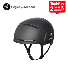 Nova ninebot respirável capacete de bicicleta homem mulher ultraleve scooter mountain bike ciclismo mtb capacete de uma peça capacete de estrada