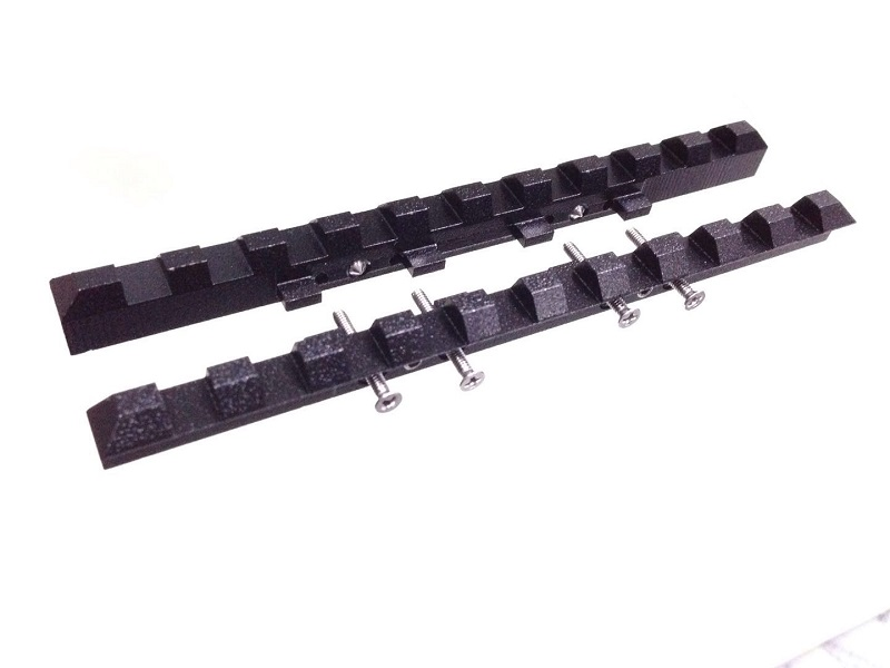 Steel Tactical MP 27  Izh 27  MP 153  Rem SPR 453 ventilated rib rail 7mm Weaver Picatinny mount hunting VI007|Scope Mounts & Accessories| |  - title=