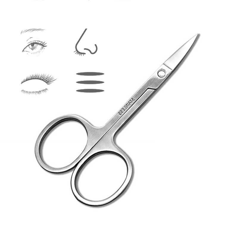 ステンレス鋼の眉毛はさみ眉毛トリマー眉毛まつげ鼻毛はさみマニキュアはさみカッター