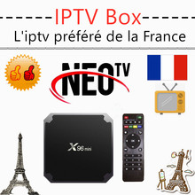 Best neo iptv box x96 mini neo tv pro android tv