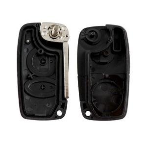 YIQIXIN, новинка, для Alfa Romeo, 2 кнопки, пульт дистанционного управления, Автомобильный ключ, оболочка, чехол, умный, аварийный, лезвие, складной, флип, пустая коробка, замена|Ключ от авто|   | АлиЭкспресс