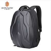 ArcticHunter 17 Inch Hard Shell Laptop Backpack Multifunction Travel USB Charging Bag Teenager Hardshell Backpacks Anti theft