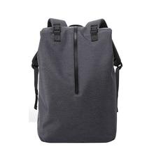 Мужская Регулируемая модная дорожная сумка для ноутбука с usb зарядным портом, рюкзак для ноутбука с большой вместительностью, нейлоновый рюкзак на молнии