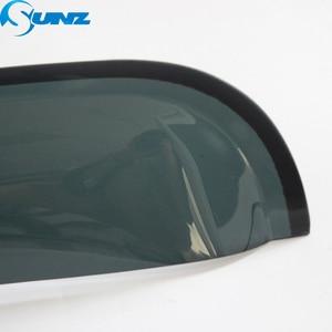 Image 4 - واقي من الرياح أسود لسيارة HYUNDAI SANTAFE 2014 حاجب للنافذة الجانبية حراس مطر لشركة HYUNDAI SANTA FE 2014 SUNZ