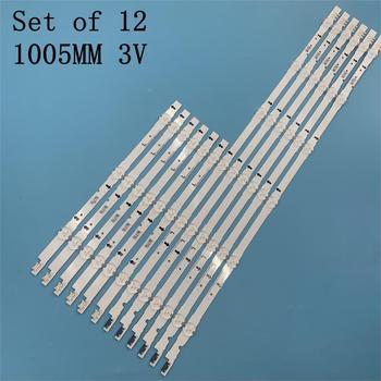 12 sztuk podświetlenie LED strip dla Samsung UE48H6400 UE48H6200AK BN96-30453A 30454A D4GE-480DCA 480DCB-R3 R2 38891A 38892A 30418A tanie i dobre opinie CN (pochodzenie)
