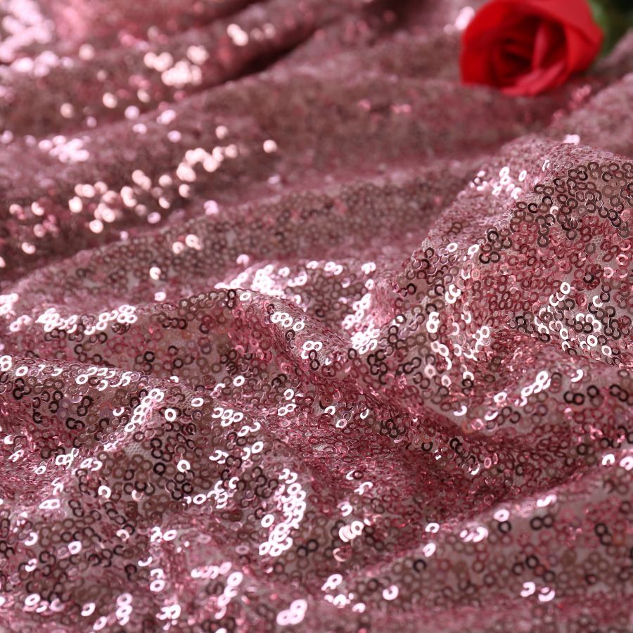 5 Yards 3mm Sequined Fabric All Over The Sky Sequined Embroidery Fabric Sequined Tablecloth Wedding Broadcast Background Cloth