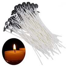 Candle Wicks Core Party-Supplies Smokeless Pure-Cotton DIY Wax 100pcs for Pre-Waxed 9/15/20cm