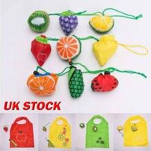 все цены на 2019 NEW Fruit Shpae Reusable Handbag Shopping Tote Grocery Eco Travel Foldable Bags Storage Bags онлайн