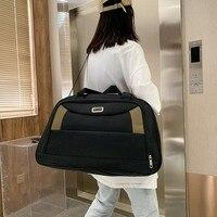 Mode frauen reisetasche hand Gepäck Wasserdicht Duffel Taschen Große Kapazität Handtaschen Schulter taschen Für Wochenende Kurze Reise