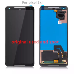 100% Original Pixel 2xl LCD For Googl e Pixel 2 XL LCD Display Touch Screen Digitizer Assembly Pixel 2 XL Screen Used and Spot