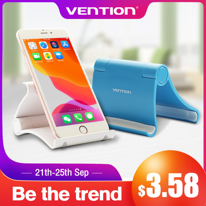Vention Mobile Phone Holder Stand Smartphone Holder for Tablet Stand iPhone Desk Cell Phone Holder Stand Portable Mobile Holder