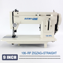 Portable Heavy-Duty Sewing Machines Zigzag Stitch 9'' Arm Leather And Heavy-Duty Sewing Machine/Long Than Sailrite 106-RPL
